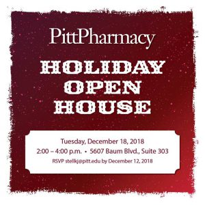 PittPharmacy Holiday Open House @ The Offices at Baum Suitre 303   Pittsburgh   Pennsylvania   United States