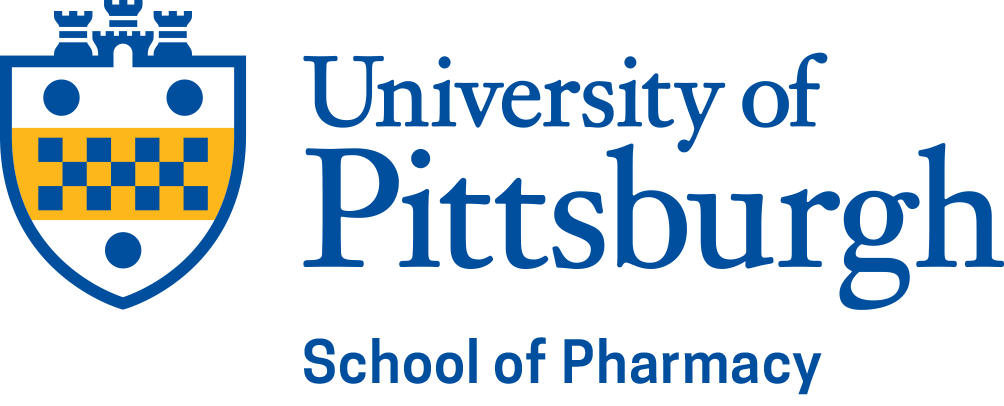 Pitt Shield- Blue with Pharmacy as name below shield